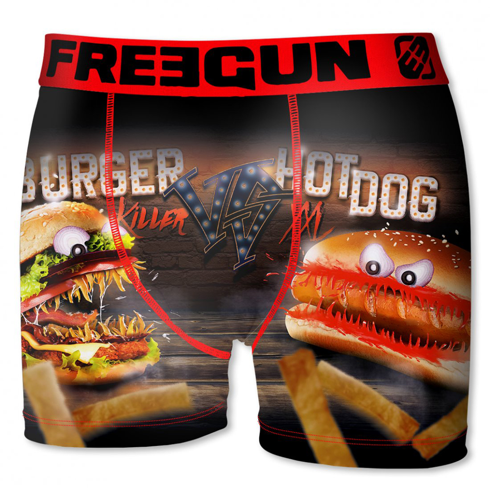 Freegun Burger VS Hotdog boxer - S