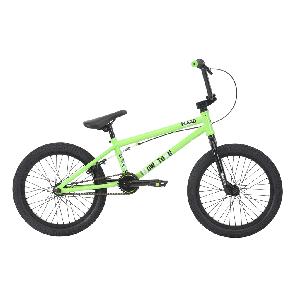 Haro Downtown 18  BMX - lime