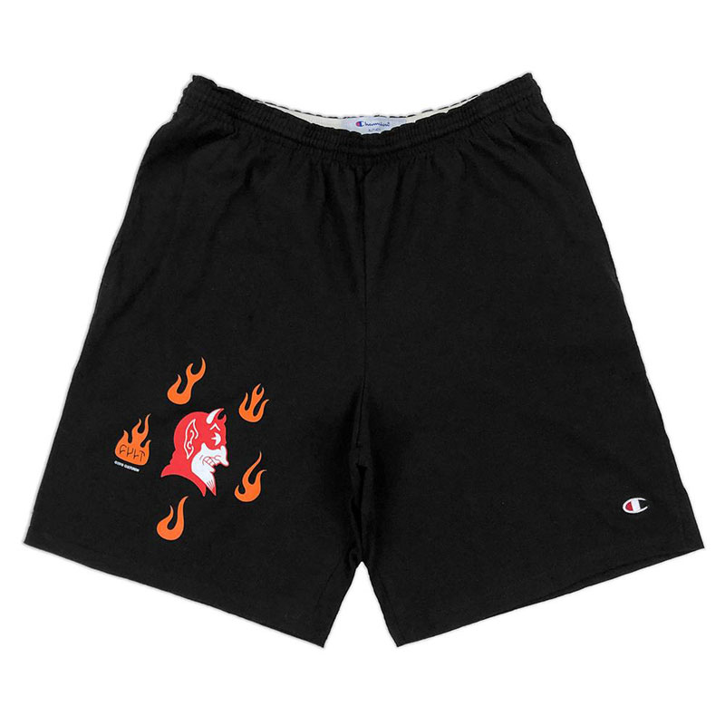 Cult Hell Bottoms short - fekete - L