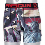 Freegun Flag USA 3D boxeralsó - XL